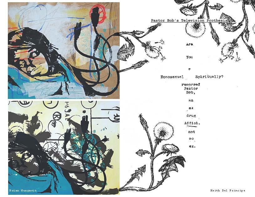 social media art directed by Keith Del Principe